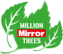 Mirror Million Trees logo